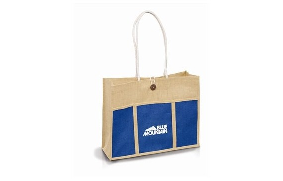 Tres-Chic Tote - Blue Only