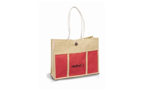 Tres-Chic Tote - Red Only