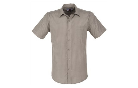 US Basic Huntington Mens Short Sleeve Shirt