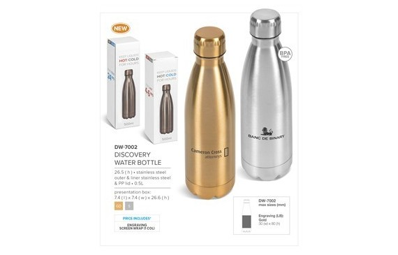 Discovery Water Bottle - 500ml