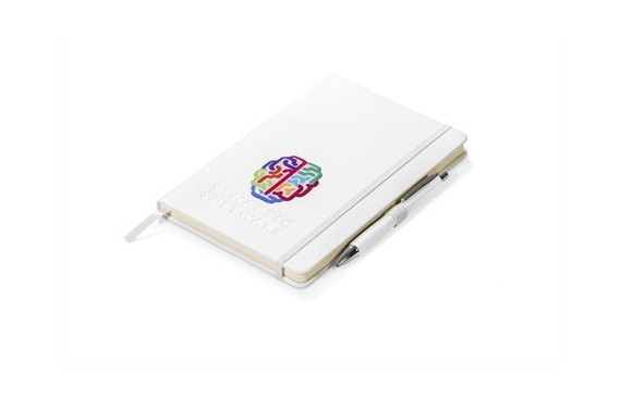 Plaza Notebook Set - Solid White