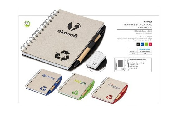 Bonaire Eco-Logical Notebook