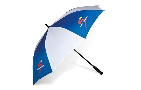 Harlequin Golf Umbrella - Blue Only