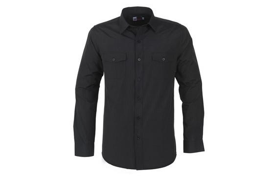 US Basic Bayport Mens Long Sleeve Shirt