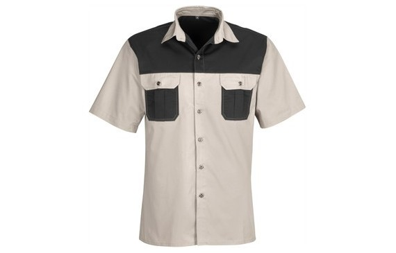 US Basic Mens Short Sleeve Saratoga Shirt