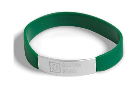 Colours Wristband - Green Only