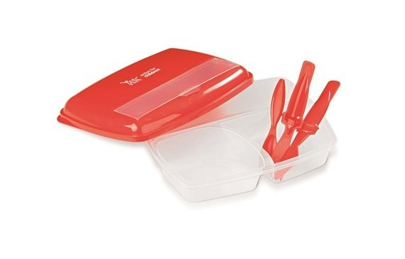 Bon Appetit Lunch Box - Red Only