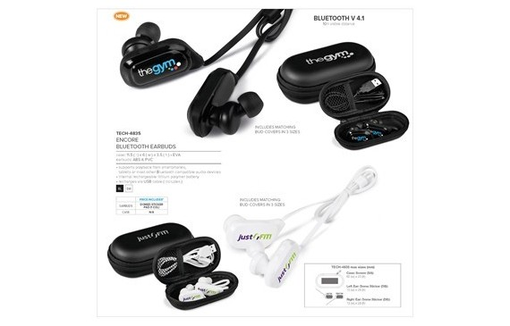 Encore Bluetooth Earbuds
