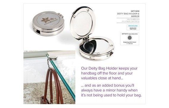 Deity Bag Holder & Mirror
