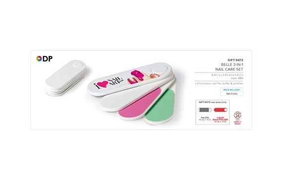 Belle 3-In-1 Nail Care Set