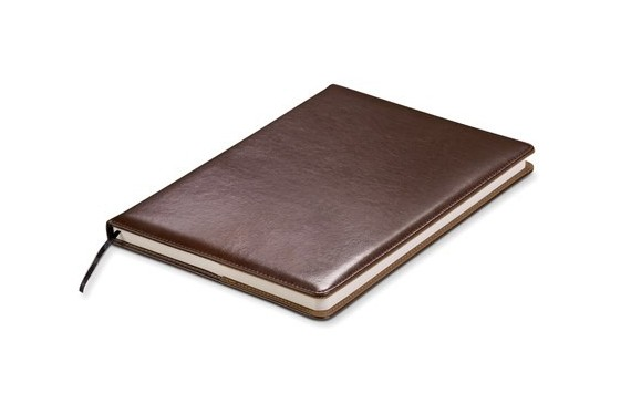 Baltimore Maxi Notebook (No Loops) - Brown Only