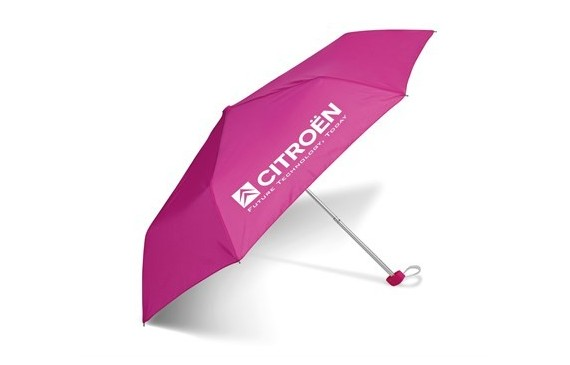 Rainbow Compact Umbrella - Pink Only