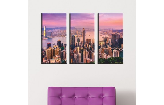 Cities & Architecture Canvas 001