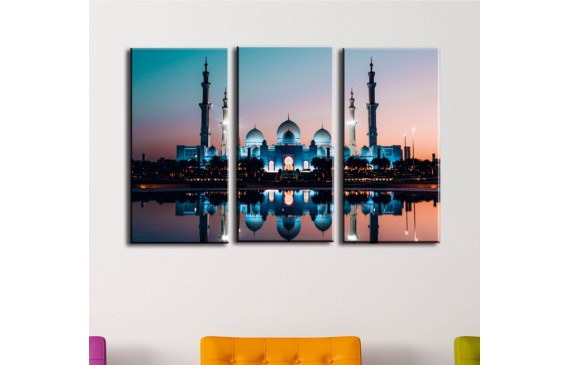 Cities & Architecture Canvas 003