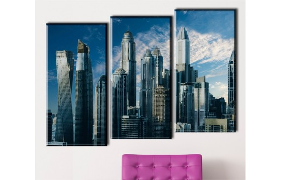 Cities & Architecture Canvas 033