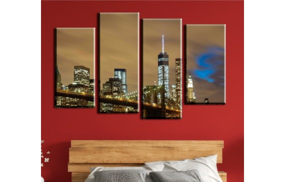 Cities & Architecture Canvas 048