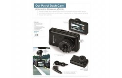 Patrol Dash Cam- Black Only - 1