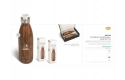 Woodbury Double-Wall Drink Bottle - 500ml - 1