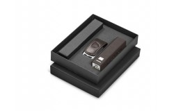 Renaissance Power Bank And USB Gift Set - Brown - 1