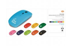 Omega Wireless Optical Mouse - 1