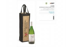 Bordeaux Single Wine Tote - 1