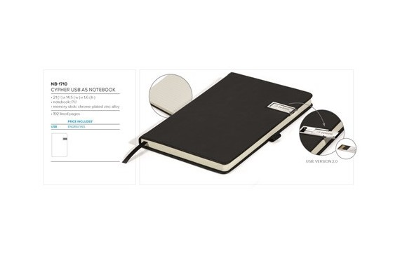 Cypher USB Notebook Gift Set