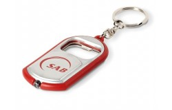 Cheers Torch & Bottle Opener Keyholder - Red Only - 1