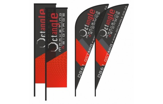 Telescopic, Bowing & Teardrop Banners