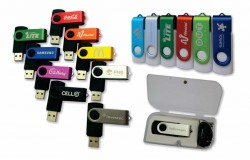 Swivel Flash Drives Incl. a FREE engraved logo